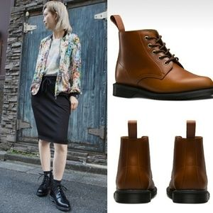 New Drdoc Marten Emmeline Leather Ankle